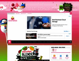ninerbakes.com screenshot