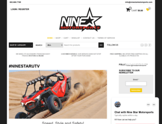 ninestarmotorsports.com screenshot