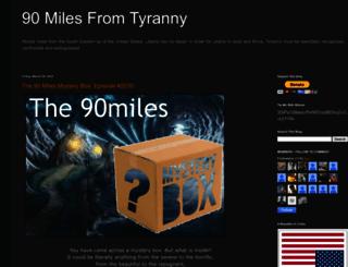 ninetymilesfromtyranny.blogspot.com screenshot