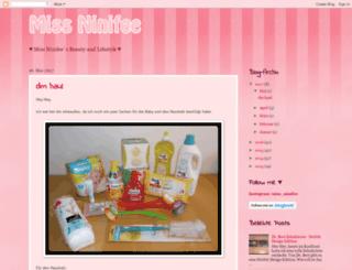 ninifee.blogspot.de screenshot