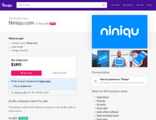 niniqu.com screenshot