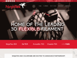 ninjaflex3d.com screenshot