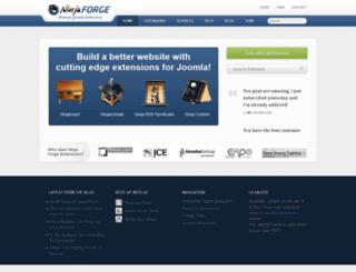 ninjaforge.com screenshot