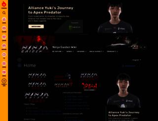 ninjagaiden.wikia.com screenshot