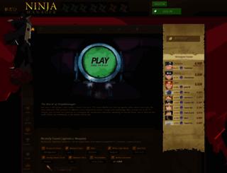 ninjamanager.com screenshot