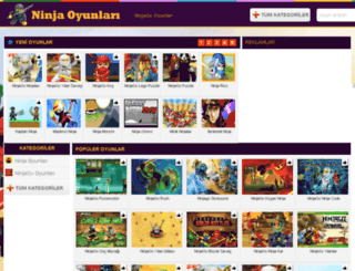 ninjaoyunlari.net screenshot