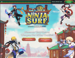 ninjasurf.com screenshot