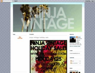 ninjavintage.blogspot.com screenshot