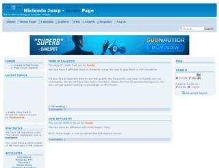 nintendojump.forum-motion.com screenshot