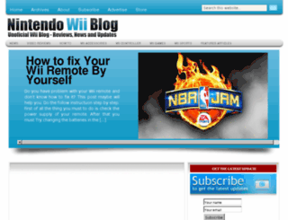 nintendowiiblog.net screenshot