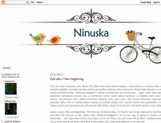 ninuskan.blogspot.com screenshot