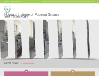 ninvast.edu.pk screenshot