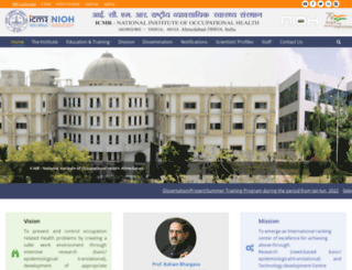 nioh.org screenshot