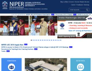 nipergn.ac.in screenshot