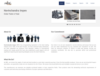 niplsteel.com screenshot