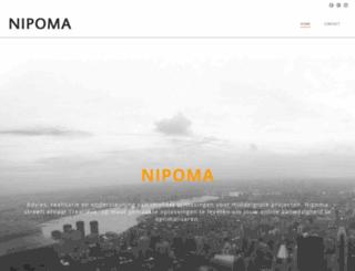 nipoma.nl screenshot
