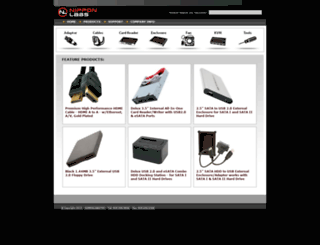 nipponlabs.com screenshot