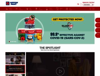 nipponpaint.com.my screenshot