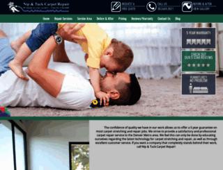 niptuckcarpetrepair.com screenshot