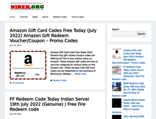 nireh.org screenshot