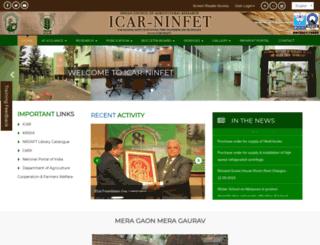 nirjaft.res.in screenshot