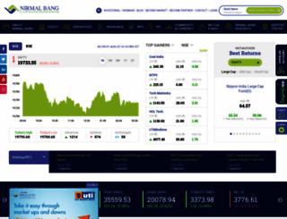 nirmalbang.com screenshot