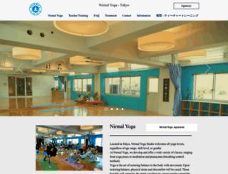 nirmalyoga.com screenshot