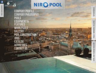 niro-pool.com screenshot
