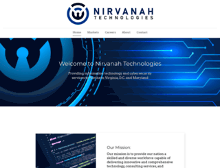 nirvanah.com screenshot