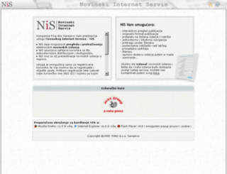 nis-press.com screenshot
