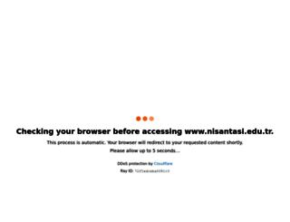 nisantasi.edu.tr screenshot