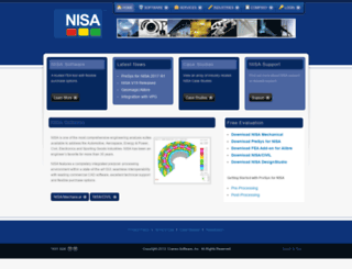 nisasoftware.com screenshot