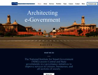 nisg.org screenshot