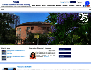 nish.ac.in screenshot
