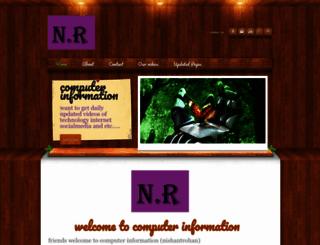 nishantrohan.weebly.com screenshot
