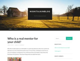 nishitajainblog.wordpress.com screenshot