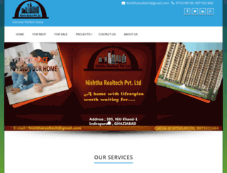 nishtharealtech.com screenshot