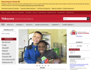 niskyschools.org screenshot