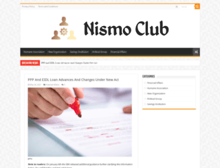 nismo-club.com screenshot