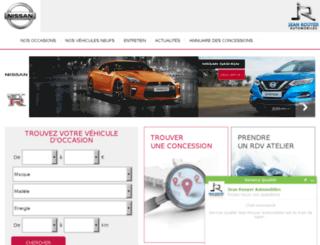nissan-maine-et-loire.com screenshot