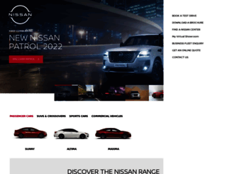 nissan-me.com screenshot