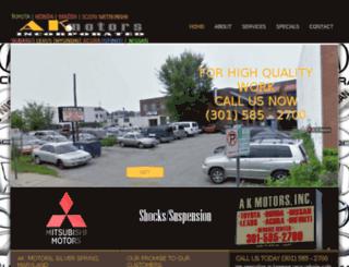 nissan.akmotors.com screenshot