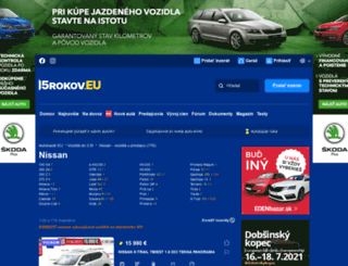 nissan.autobazar.eu screenshot