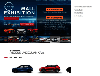 nissan.co.id screenshot