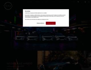 nissan.co.uk screenshot