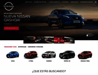 nissan.com.bo screenshot