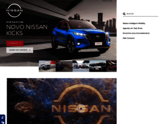 nissan.com.br screenshot