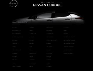 nissan.eu screenshot