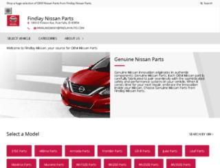 nissan.findlayauto.com screenshot