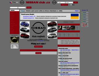 nissanclub.cz screenshot